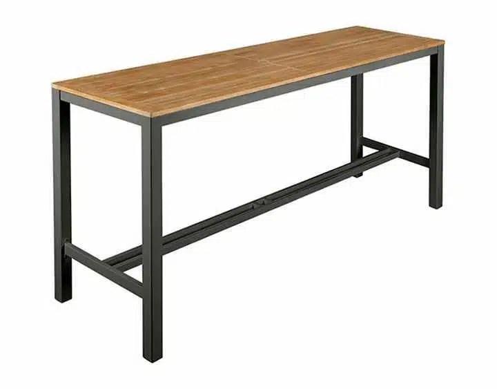 aura 78 x28 rectangular counter height table