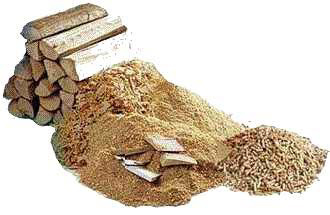 Biomasse Brennstoffe