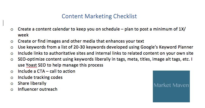 managing content marketing