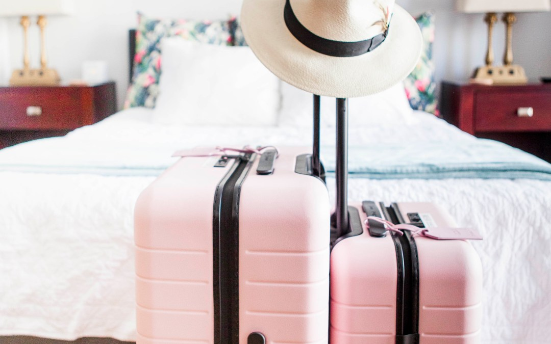 Away Luggage Review (Bonus: Blush is back in stock!)