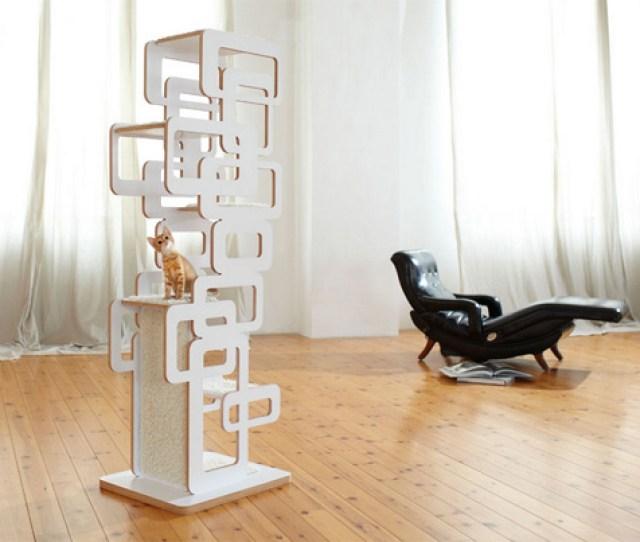 German Designer Cat Trees From Wohnblock