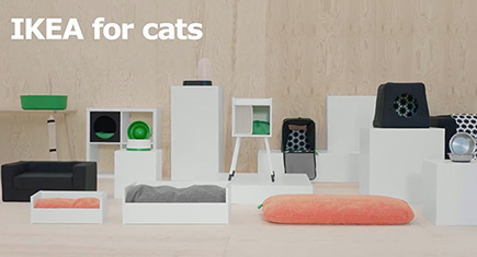 the new ikea cat line is even more