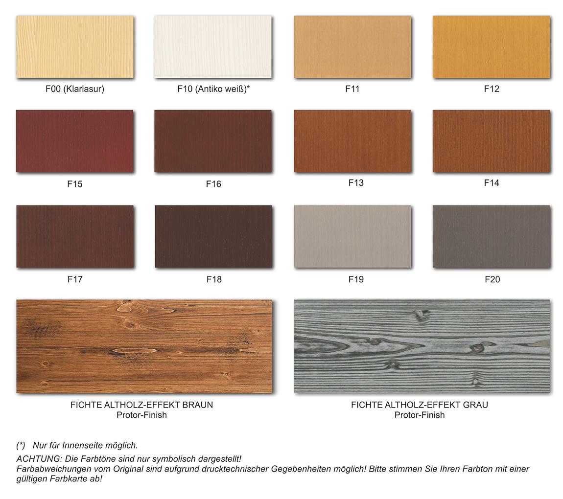 Farben Holz Oberflachen Lasierende Oder Geolte