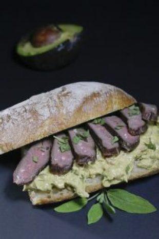 Reh, Rehstak, Kalter Braten, Reh Rezept, Avocado, Guacamole, Sandwiche, Reh-Sandwich