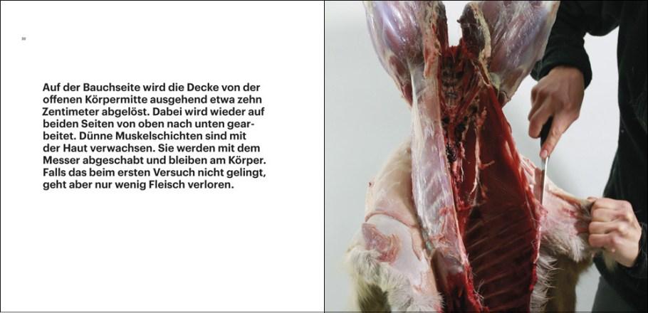 """Ausschnitt aus dem Buch """"Rehwild, vom Lebewesen zum Lebensmittel"""" von Fabian Grimm, Aus der Decke schlagen"""