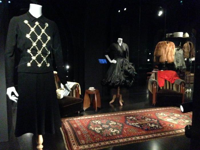 De garderobe van mevrouw B. in het Rijksmuseum Amsterdam