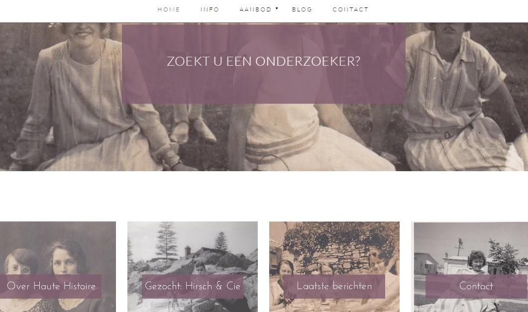 website Haute Histoire