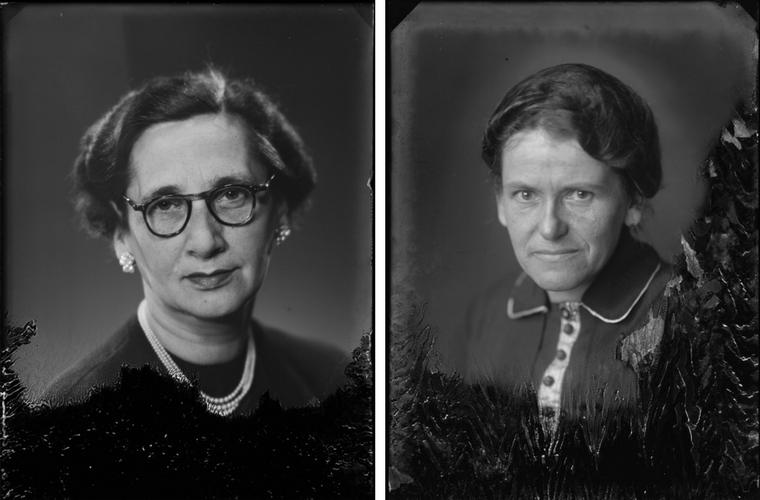 Theodora Benning en Willemijntje Eijnikel