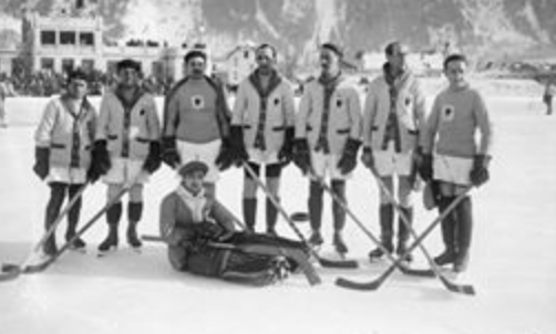 Winter Olympics in Chamonix