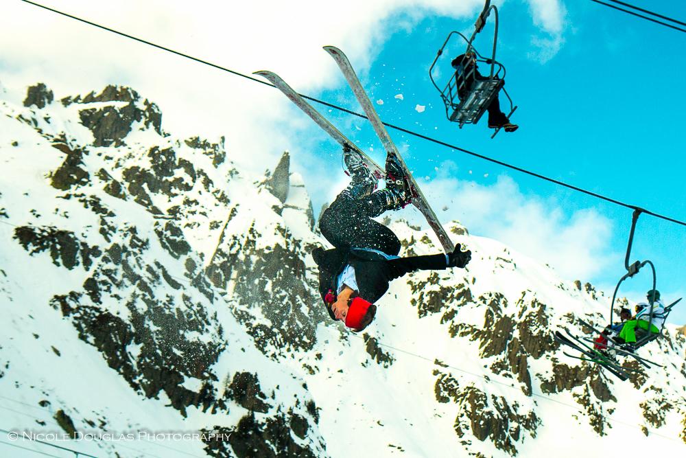 Bride & Groom Styled Ski Shoot