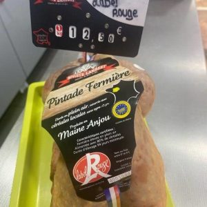 pintade label rouge