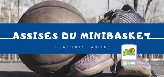 Retours sur les Assises du MiniBasket du 5 janvier à Amiens.