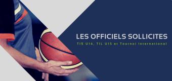 Les arbitres des Hauts-de-France, également sollicités.