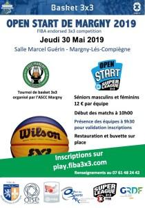 OpenStart de Margny 2019 @ Salle Marcel Guérin