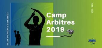 Camp Arbitres HDF Basketball 2019