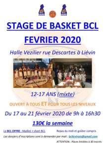 Stage Mixte du BCL @ Liévin