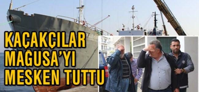 Sigara kaçakçıları Mağusa'yı mesken tuttu