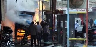 Şamda bombalı saldırı: 15 ölü
