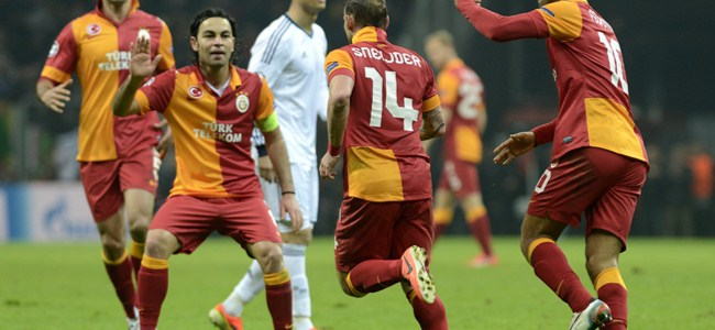 Galatasaray'dan muhteşem veda