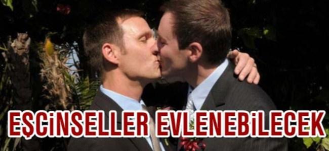 Eşcinseller evlenebilecek ve evlat edinebilecek