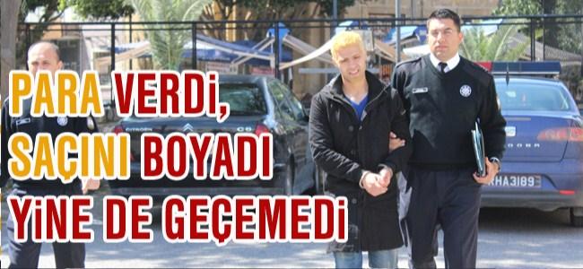 10 Bin Euro'ya Sahte Pasaport Yaptırdı Saçını Boyadı...