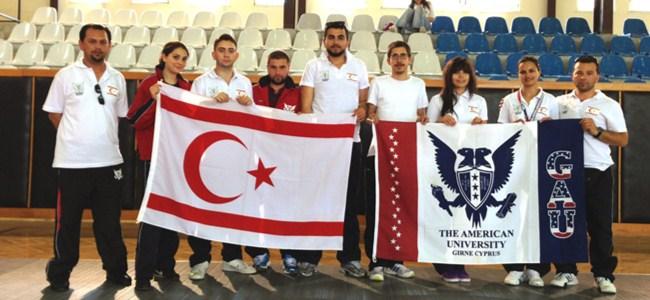 Eskrimde GAÜ Türkiye ikincisi