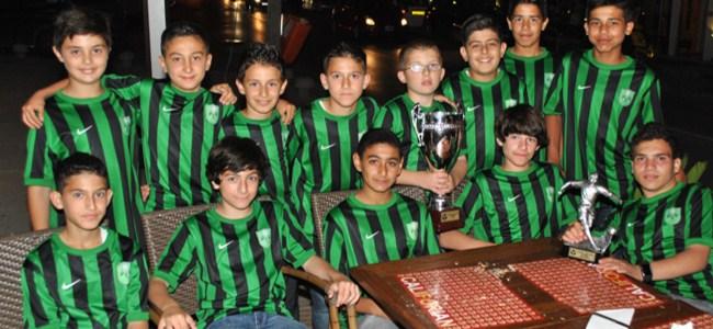 Kaymaklı U12 Takımı Şampiyonluğu Kutladı