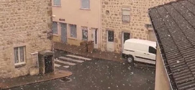 Mayıs Sonunda Kar Yağdı!