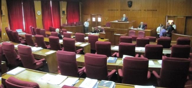 Meclis Genel Kurulu İlk Denemede Toplanamadı