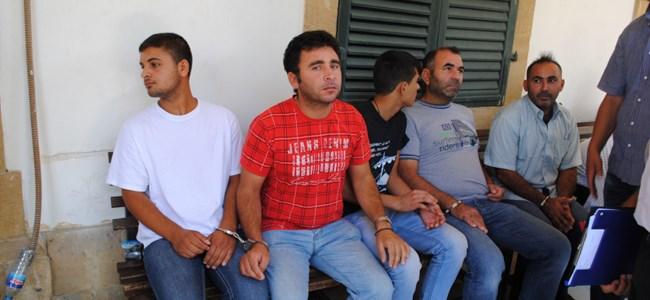 Suriyeli Kaçaklar Cezaevine Gönderildi
