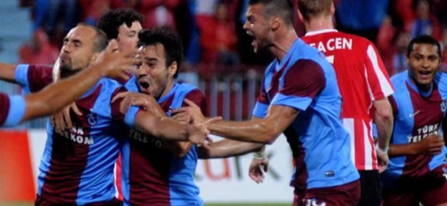Trabzonspor avantajı kaptı!