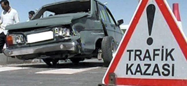 Bir haftada 60 kaza 12 yaralı