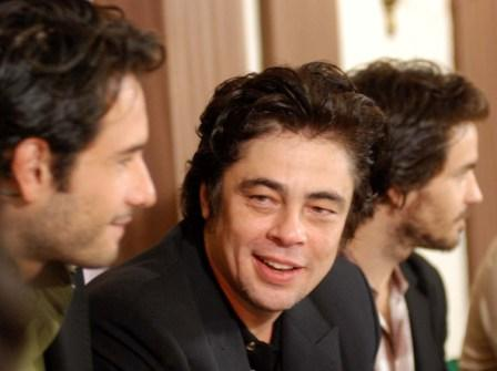 "Benicio del Toro in Havana to present ""Che"", photo by Caridad"