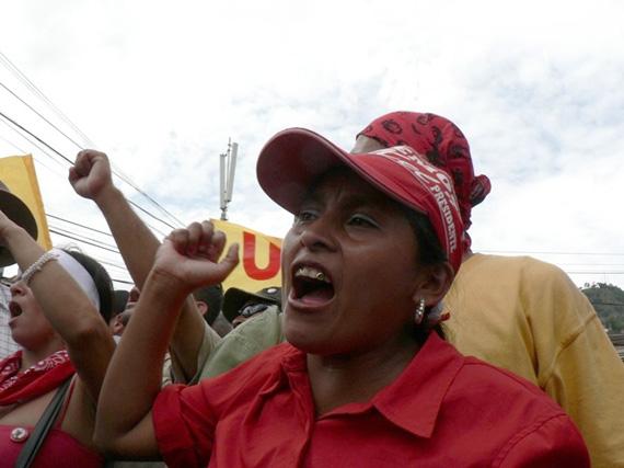 Honduras today. Photo: Giorgio Trucchi, rel-UITA