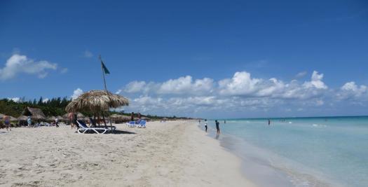 Urlaub in Kuba am langen Strand in Varadero