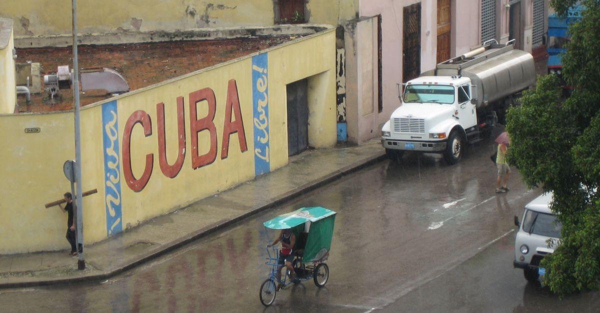 Starke Niederschläge im Urlaubsparadies Kuba.