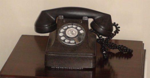 Telefon im Zimmer von Ernest Hemingway im Hotel Ambos Mundos
