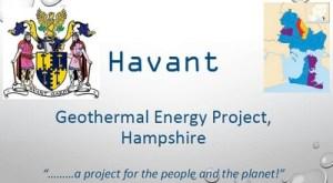 Havant FoE Geothermal