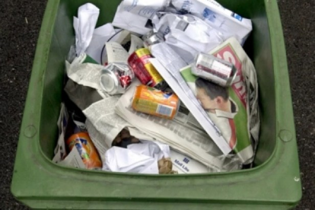 Recycling rates are down across the Portsmouth area