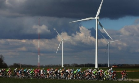 Wind power installations raced ahead in 2015, accounting for more than half of all new electricity generation worldwide. Photograph: Bryn Lennon/Getty Images