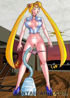 Smasher light-haired hentai bitches showing their incredible figure