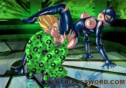 Super-hot manga porn siren riding a large cock