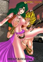 Fabulous manga porno gipsy gal getting tight vulva finger-banged