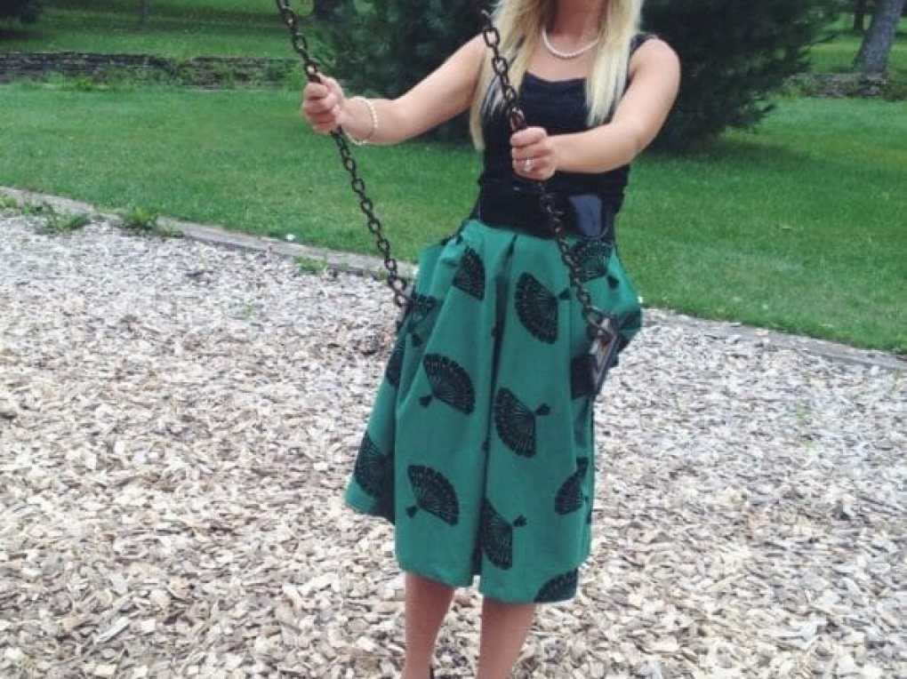 A Green ModCloth Skirt