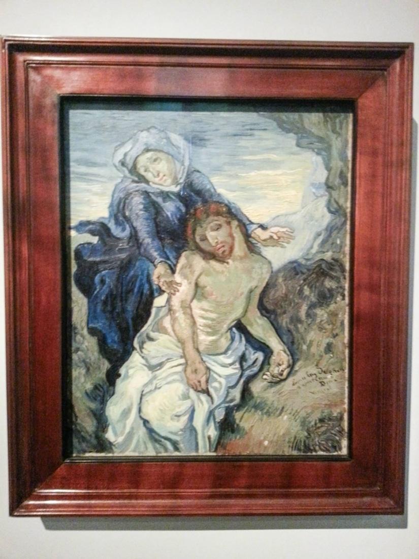 The Pietà by Van Gogh.