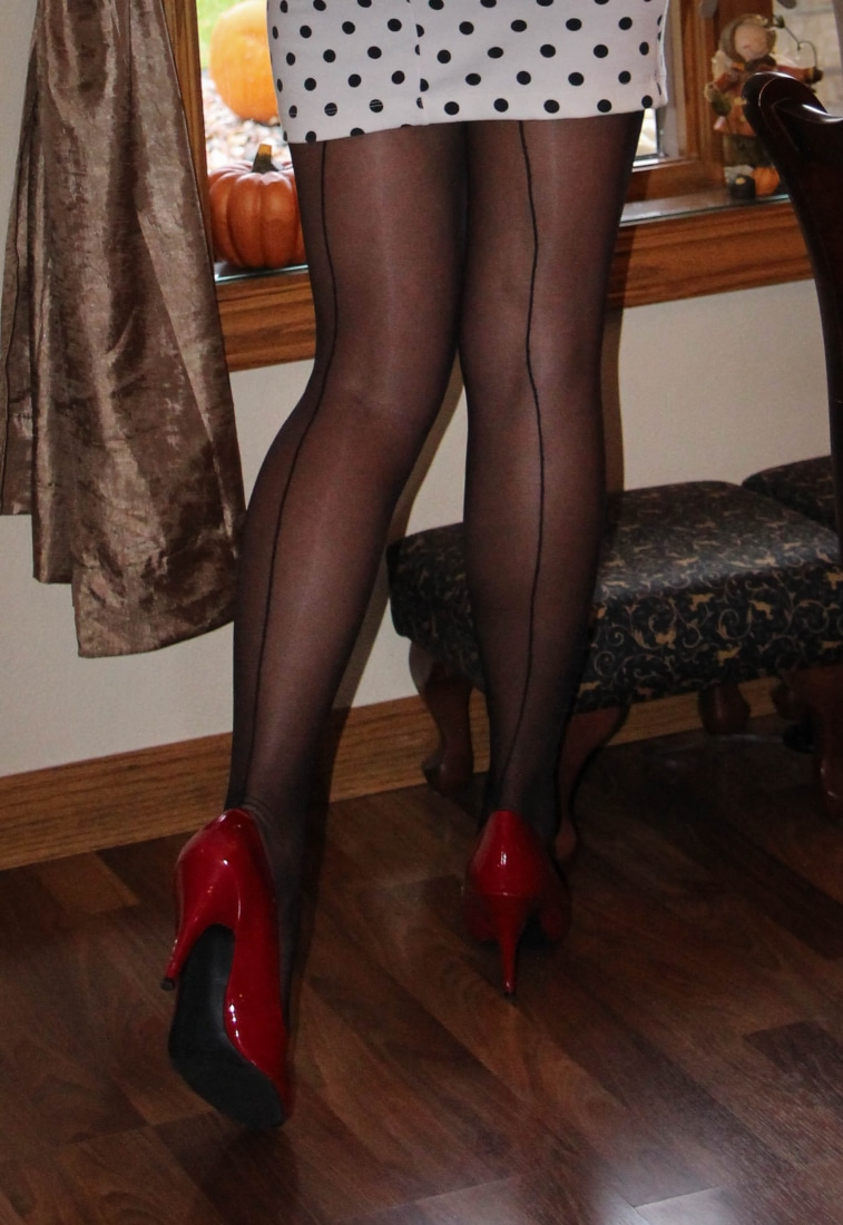 Pin-up tights