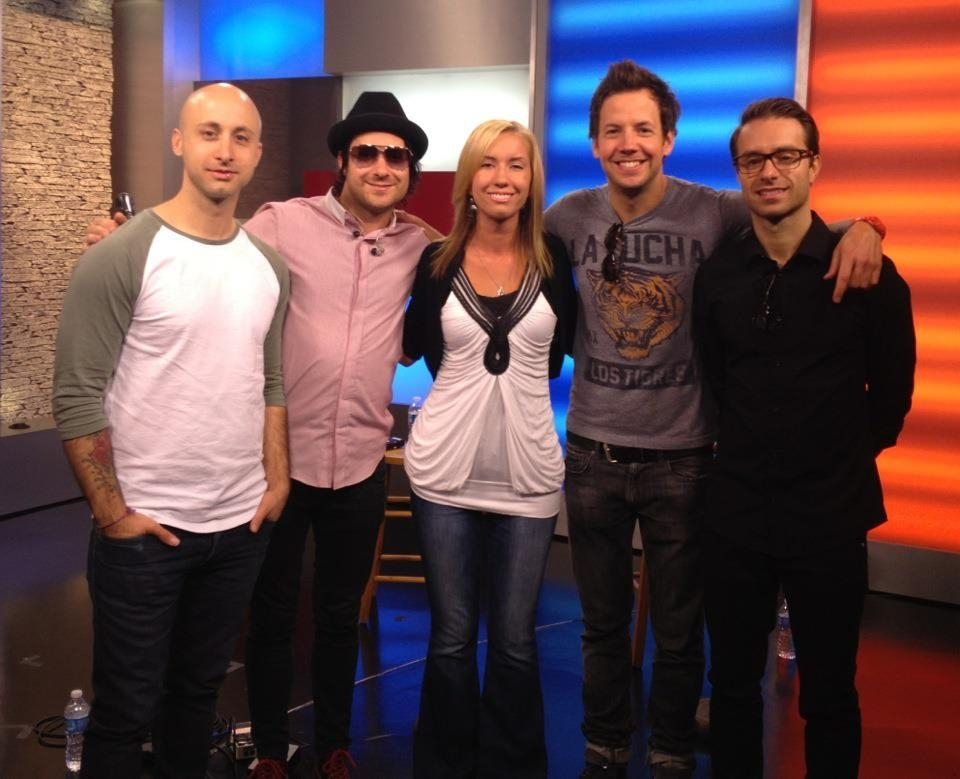 Inside our studio with Simple Plan.