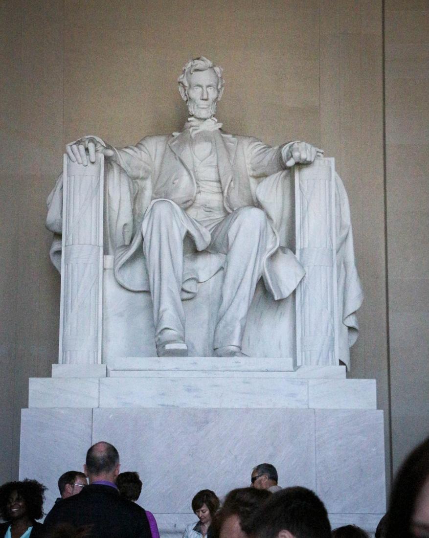 The Lincoln Memorial (Photo credit: Trina)