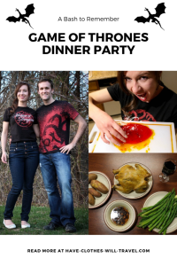 A Game of Thrones Dinner Party