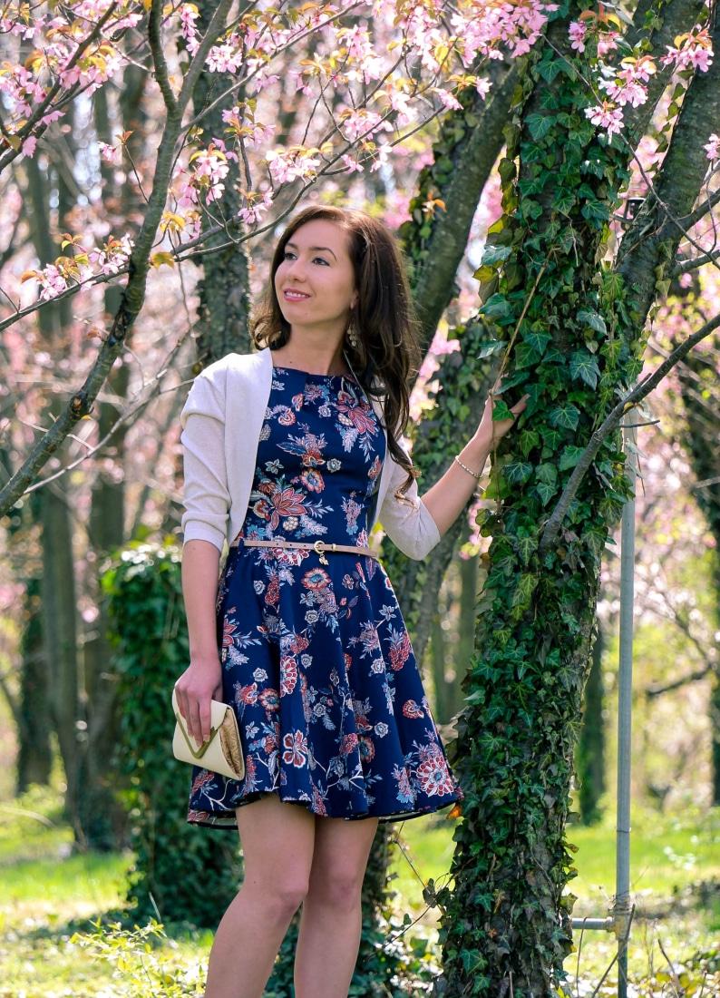 Closet flower dress